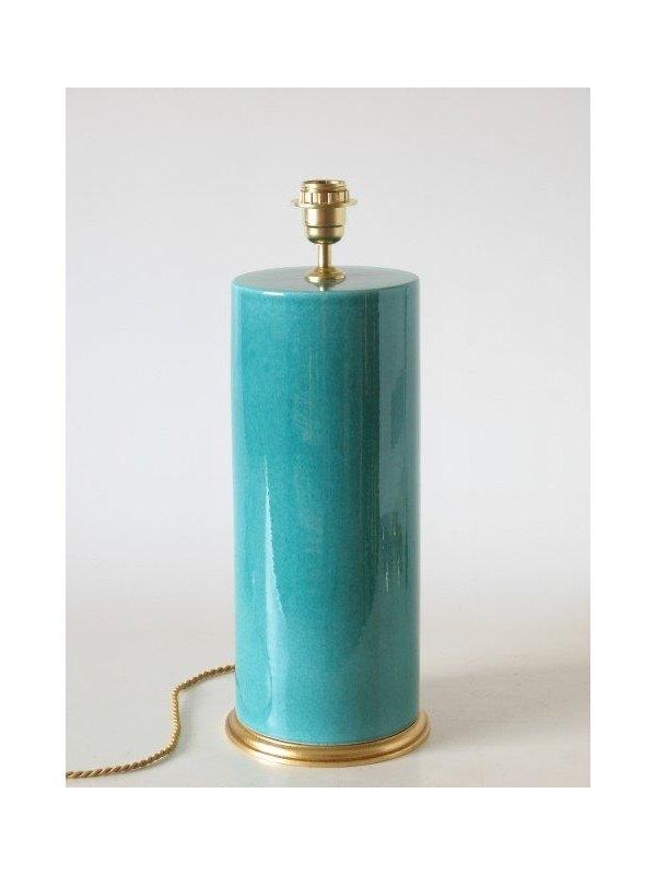 Tienda online decoraci n l mpara de cer mica color verde for Lamparas de ceramica