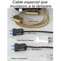 Cables Enchufe Lámparas